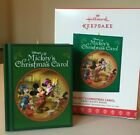 Hallmark 2017 Disney Mickey Mouse Ornament MICKEY'S CHRISTMAS CAROL ~ NIB