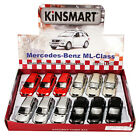 MERCEDES BENZ ML CLASS SUV DIECAST CAR BOX OF 12 5 INCH DIECAST CARS ASSORTED