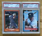 Lot of Two (2) Jay Buhner 1988 Rookie Cards, Both PSA 10, Score
