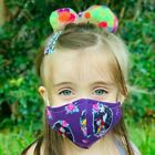 Face Mask Kids Adult Cotton Fabric Made In Usa Washable And Reusable Unisex