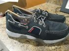 Mens Sperry Top Sider Boat Shoe 9M Sea Kite Sport Moc Navy New