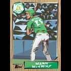 1987 ATHLETICS MARK MCGWIRE project 2020 #60 RARE & LIMITED RELEASE By Naturel🔥