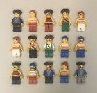 LEGO Pirate Lot. 15 Vintage MiniFigures Assorted Pirates