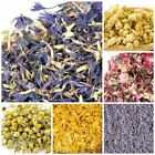 DRIED FLOWERS  PETALS ROSE LAVENDER CHAMOMILE MARIGOLD COSMETIC USE