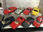 FERRARI MAISTO DIECAST 139 Scale Model Cars 8 Lot