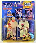 1998 Starting Lineup Classic Doubles Johnny Bench / Joe Morgan Figure 2 Pack