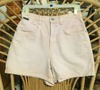 LIGHT DENIM VTG 80s SHORTS SEXY BOHO FESTIVAL HIPSTER RARE SIZE 8 BY N Y JEANS