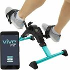 Vive Desk Bike Cycle Foldable Foot Hand Pedal Exerciser TEAL New open box