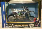 2002 LBZ KAWASAKI KX250 Motocross 16 SCALE DIE CAST Motorcycle Supercross Model