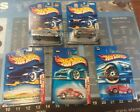 Lot of 5 Assorted Hot Wheels Die Cast NIP