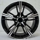 18 inch Black Machined Rims fits ET30 LINCOLN MKZ