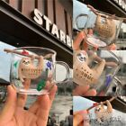 2020 China Starbucks New Summer 10oz Sloth Silicon Tea Strainer Glass Cup