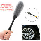 Master Wheel Brush Wheel Long Soft Hair Car Wheel Brush Rim Tire Detail Brush
