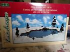 MILL POND,1999 SET OF 6, LEMAX VILLAGE COLLECTION, POLY-RESIN, INCL ASSRT.TREES