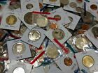 Liquidation SALE LOT of 11 Proof and Mint coins PLUS 50+ year old 5 coin BONUS