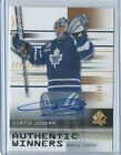 19-20 SP AUTHENTIC WINNERS AUTO #AW-CJ CURTIS JOSEPH 68 99 MAPLE LEAFS