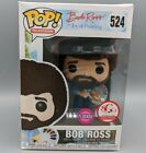 Funko POP! Television #524 Bob Ross FLOCKED Target Exclusive Vaulted Rare