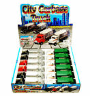 GARBAGE TRUCK DIECAST CAR BOX OF 12 6 INCH SCALE DIECAST MODEL CARS ASSORTED