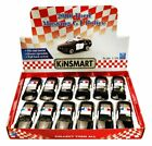 BOX OF 12 DIECAST MODEL TOY CARS 2006 FORD MUSTANG GT POLICE CAR 1 38 SCALE