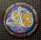 NASA PATCH SHUTTLE TO MIR HOMER SIMPSON STS 81 STS 84 Sperm Mission 35