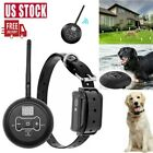 Wireless Remote Electric Dog Fence Pet Containment System Shock Training Collars