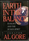 Gore Al Earth in the Balance Signed First Edition