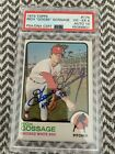 1973 Topps Rich Goose Gossage Signed Rookie Card PSA  Auto 10 RC HOF #174