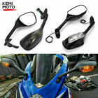 Rearview Mirrors Turn Signal For Suzuki GSXR600 GSXR750 2006-2015 GSXR1000 2008