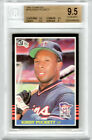 1985 Donruss #438 Kirby Puckett RC - Rookie Hall of Fame GEM MINT BGS 9.5