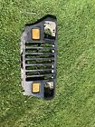1987 1995 Jeep Wrangler YJ Front Grill Grille Light Lights Wiring Core Support