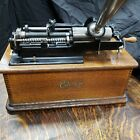 REPEATER MECHANISM Edison Home 2 min Cylinder Record Phonograph