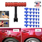 Car Body Paintless Dent Repair Removal Tool Puller Lifter T-bar Pulling Tabs Set