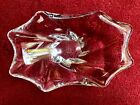 Vintage Baccarat Ashtray Candy Bowl Dish Made in France Cadix Crystal Glass