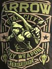Arrow Star City Black Small T Shirt Funko Only Weapon Television Series