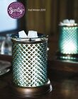 Scentsy BLUE DIAMOND Wax Warmer 2 Pc Lampshade collection Glass Open Box