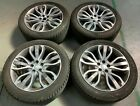 21 GENUINE RANGE ROVER SPORT L494 ALLOY WHEELS AND TYRES STYLE 5007