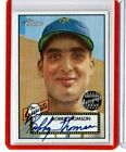 2001 TOPPS HERITAGE REAL ONE AUTOGRAPH AUTO BOBBY THOMSON