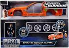 JADA 30699 THE FAST AND FURIOUS BRIANS TOYOTA SUPRA 124 DIECAST KIT CAR ORANGE