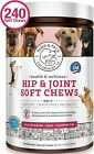 Glucosamine Chondroitin for Dogs Cats Omega 3 Supplement Vitamin Soft Chews
