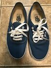 Vans Chambray Blue Men 75 Womens 9 Lace Up Shoes Sneakers