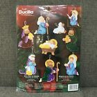 Bucilla 84817 Joy To The World Nativity Felt Ornaments Kit Christmas Set