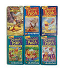 Winnie the Pooh VHS Lot of 7 Video Tapes Learning Storybook Classics