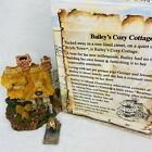 Boyds Bearly Built Villages Baileys Cozy Cottage New Box