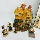 Boyds Bearly Built Villages 1st Edition Baileys Cozy Cottage Accessories New Box