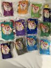 1998 McDonald's Beanie Baby's Full Collection (never Opened)