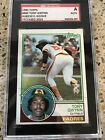 Tony Gwynn 1983 Topps #482 SIGNED autograph card SGC certified San Diego Padres