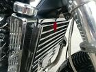 Honda Valkyrie 1997-2003 upper radiator cover  chromed.