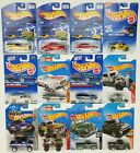 Collection of 12 Hot Wheels Ford Lovers Lot Trucks Mustang Bronco Torino Coupe +