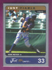 2002 Just Minors JOSE REYES #d 375 ON CARD AUTOGRAPH JUSTIFIABLE HOLOGRAM METS