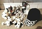 Dalmatians Mix Lot Of Figurine-Picture Frame-Napkin Holders-2 Mugs-Cap-Beanies